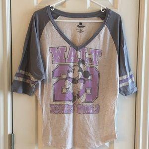 Authentic-Original DisneyParks Minnie shirt